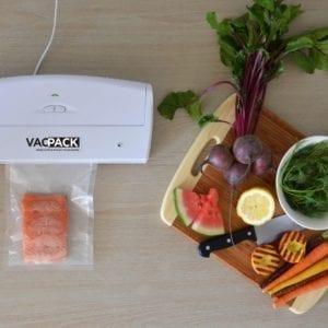 vacpack VS100 vacuum packers innovation in food industry