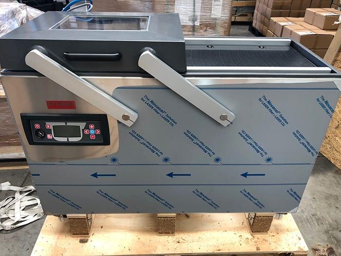 vacpack Double chamber Vacuum machine turbovac