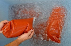 vacpack ice bucket for cook-chill
