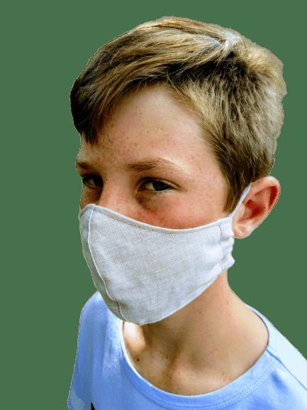 Washable Linen Face Mask